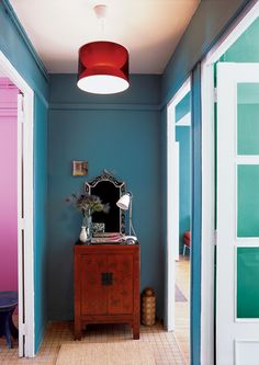 Jewel-toned walls