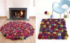 Cómo hacer alfombras de lana, explicación, realmente fácil!