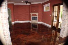 Metallic Epoxy Flooring - Lafayette LA
