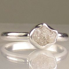 natural uncut diamond.. i kind of like this.