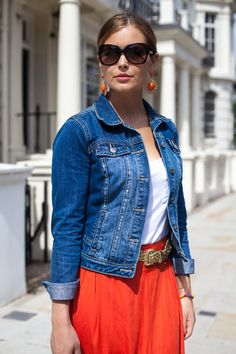 """1st Of July ( Denim Jackets & Tanks )The perfect match to wear Nina Heyer's bags Have a look in Etsy """"style so original"""" Found on lolobu.com"""