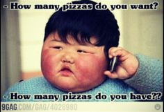 How many pizzas do you have?