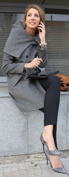 grey jackets outfits, collar, coat