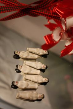 Antique Frozen Charlie Dolls with Black Hair by VintagebyViola, $66.00