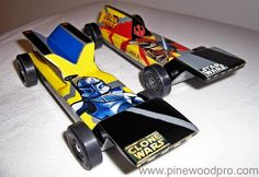 Scouting on pinterest cub scouts pinewood derby and for Pinewood derby templates star wars
