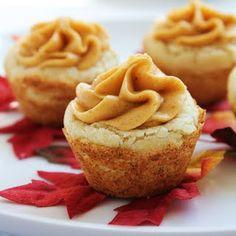 Pumpkin Cookie Cups
