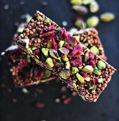 Quinoa Coconut Cacao Bar #recipe #healthysnack
