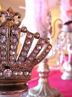 Marie Antoinette Inspired Birthday Party