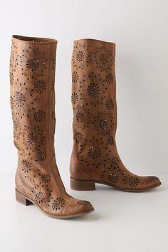Anthro fox glove boots