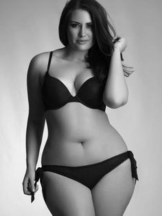 """Why don't woman with bodies like this show up in the results when searching for bikinis or when searching """"beach bodies"""" bc honestly when I go to the beach every summer...this is the majority of the body type I see. And there is nothing that isn't beach body material about this woman. She looks amazing!"""