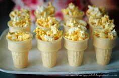 popcorn party snacks