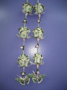 Money Rose and Butterflies