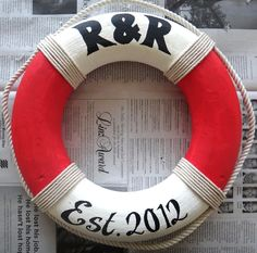 DIY nautical life preserver