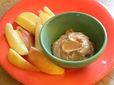 Chocolate Peanut Butter Greek Yogurt Dip!