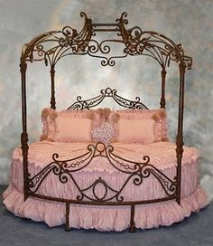 Pink Princess Bed!!  <3                        ~Shabby Delights~