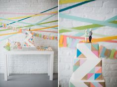 Geometric Indie Wed Inspiration
