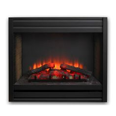"""GreatCo 41"""" x 35"""" High Definition Electric Fireplace Louvers #LearnShopEnjoy"""