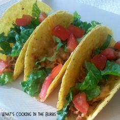 What's cooking in the burbs: Baked Chipotle Beef Tacos