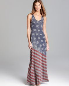 Red, white, and blue distressed - Flag Racer Maxi