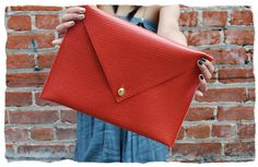 #DIY Envelope Clutch