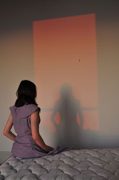 Self Portrait in the sunset light of Trouville (Normandy, France) Tara Niami