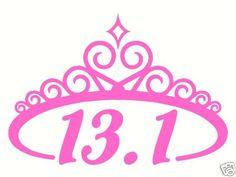 Disney Princess Half Marathon - the only running event I'd participate in.