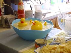 ducky punch for a baby shower