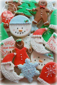 La Bandeja de horno: Galletas de Navidad!