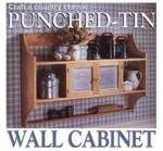 Punched tin wall cabinet PDF