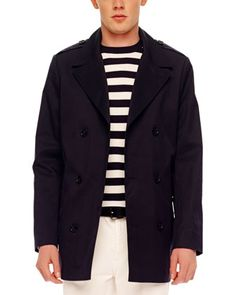 Relaxed Twill Coat by MICHAEL KORS at Neiman Marcus.