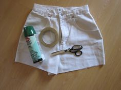 Prudence and Austere: DIY Striped Shorts vs The Inspiration