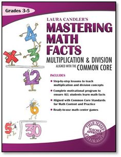 Mastering Math Facts Multiplication and Division: Aligned with the Common Core is a 208-page comprehensive ebook that includes dozens of lessons, strategies, games, and activities to introduce or review multiplication tables. The step-by-step lessons make it easy to teach the foundations of multiplication and division, and the Mastering Math Facts motivational system ensures that all students learn their math facts fluently. Now available in print, too!$