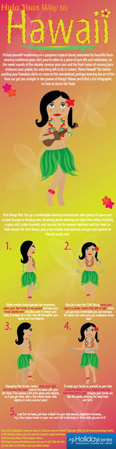 Infographic: Hula Your Way to Hawaii #Travel
