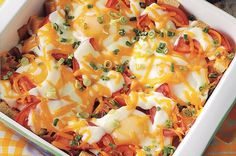 BLT Egg Bake Recipe from our friends at Eggland's Best