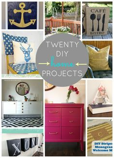 20 Fabulous DIY Projects For Your Home  |