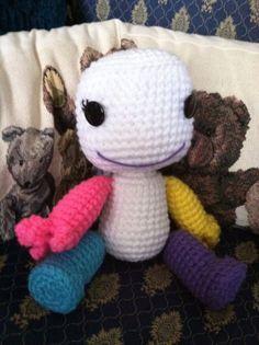 kukaku shiba of Bleach Sackgirl Crochet by Sackboyncostume