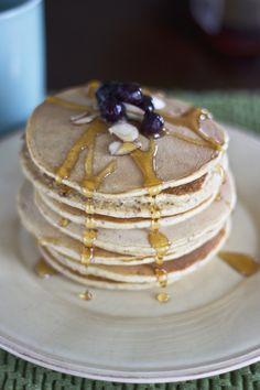 Gluten free almond pancakes
