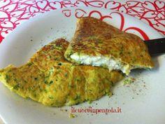 Omelette con zucchine e ricotta - Ricette di cucina con foto