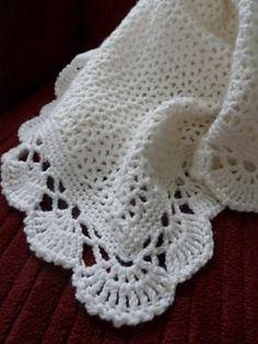 pretti edg, craft, the edge, baby blankets, blanket patterns