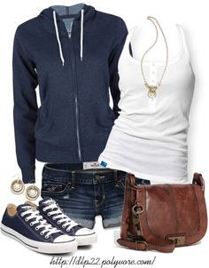 """Summer Nights"" by dlp22 on Polyvore"