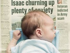 New Idea for Baby Photos: Baby on a Newspaper http://www.ivillage.com/new-idea-baby-photos-baby-newspaper/6-a-552299