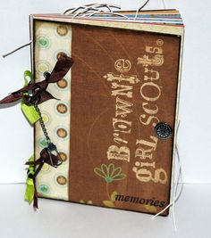 Brownie Girl Scout Journal Memory book