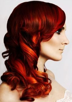 red orang, color long, hair colors, adrin, red hair