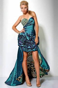 Vestidos bonitos y elegantes de noche
