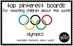 The Educators' Spin On It: Top Pinterest Boards to Teach Your Children About the World