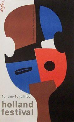 Dick Elffers, opdrachtgever: Holland Festival, 1963