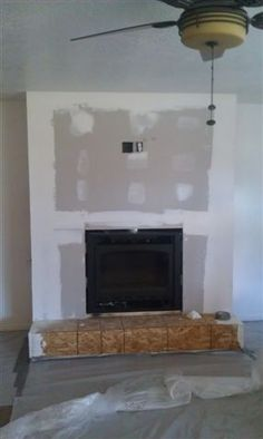 Before and after photos on pinterest fireplace makeovers for Fireplace renovations before and after