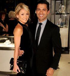 Kelly Ripa & Mark Consuelos