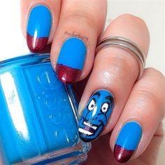 Genie Nails by nailartbysig from Nail Art Gallery