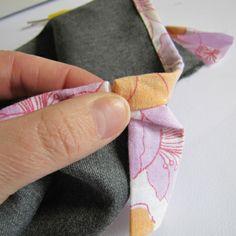 Sewing Tutorial: Finishing off your bias binding.